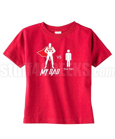 "Kids Kappa ""My Dad vs Your Dad"" T-Shirt for Kids"