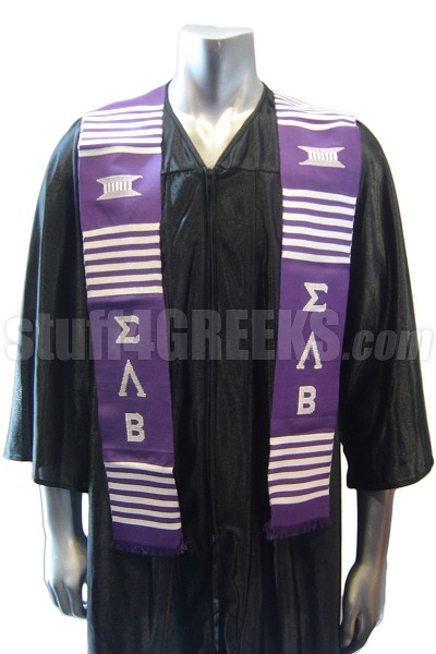 Sigma Lambda Beta Kente Graduation Stole