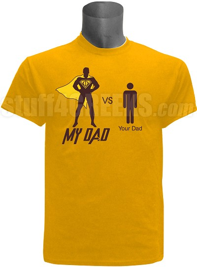 "Adult Screen Printed Iota Phi Theta ""My Dad vs Your Dad""  Tee"