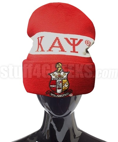 Kappa Alpha Psi Beanie Hat with Organization Name (SAV)