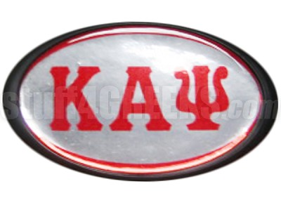 Kappa Alpha Psi Greek Letter Domed Hitch Cover (CQ)