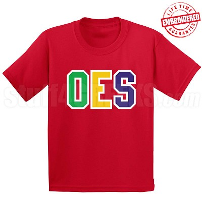 OES T-Shirt - EMBROIDERED with Lifetime Guarantee