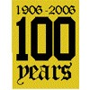 100 Years Logo Patch