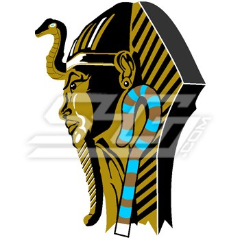 Pharaoh King Patch (by Carlton Sanders)