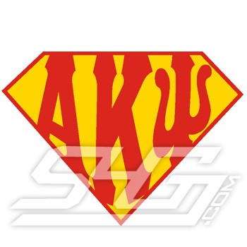 Super A-K-Psi Logo Patch