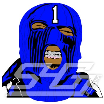 Phi Beta Sigma Masked Goon Patch