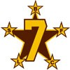 5 Pt. Star w/Number Patch
