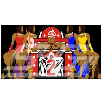 Kappa King with Ladies Patch