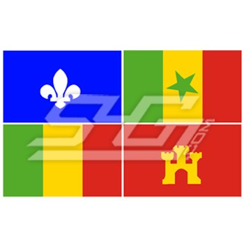 Creole Flag Patch