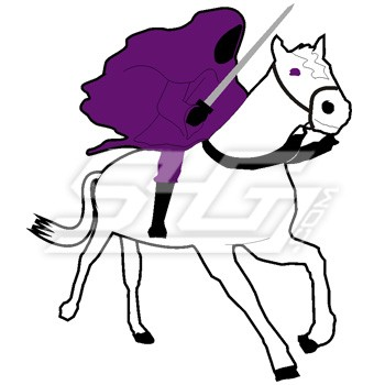Sigma Lambda Beta First Horseman of the Apocalypse Patch