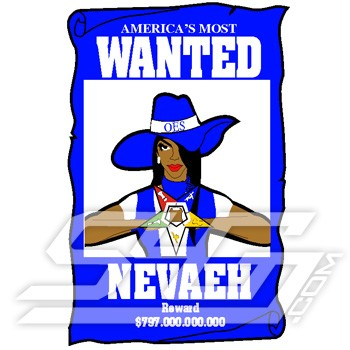 OES Wanted Poster Patch
