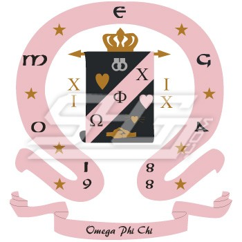 Omega Phi Chi Crest Patch