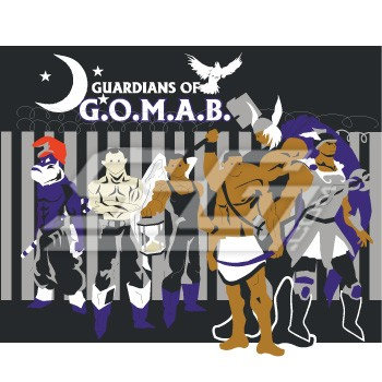 Phi Beta Sigma G.O.M.A.B. Guardians Patch