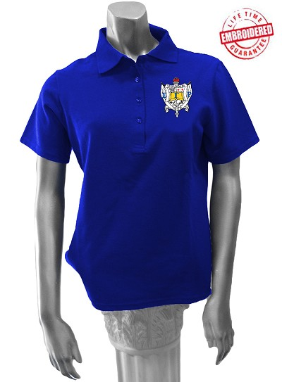 Sigma Gamma Rho Large Crest Polo Shirt