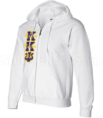 Custom Kappa Kappa Psi Zip-Up Hoodie Sweatshirt