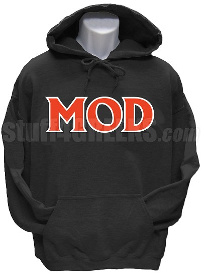 Men of D.I.S.T.I.N.C. Pullover Hoodie Sweatshirt, Black