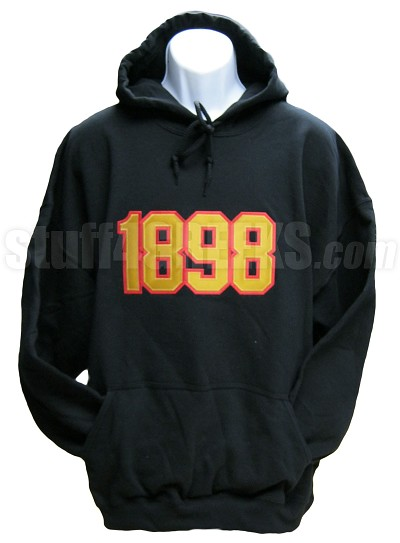Phi Mu Alpha Founding Year Pullover Hoodie, Black