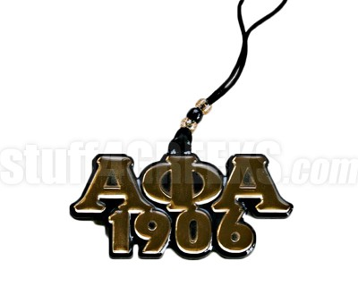 alpha phi alpha founding year tiki letter necklace
