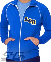 Alpha Phi Omega Track Jacket (Unisex), Royal