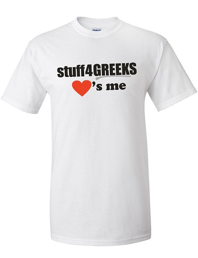 stuff4GREEKS Loves Me T-Shirt