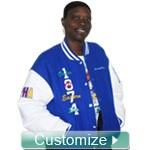 Custom Greek Varsity Letterman Jackets